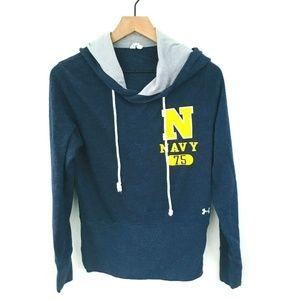 Under Armour US Navy Hoodie Sweatshirt